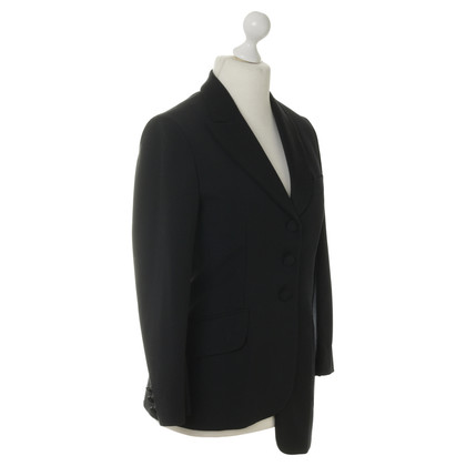 Moschino Cheap and Chic Asymmetrischer Blazer aus Wolle
