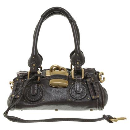 Chloé Baby Paddington bag in dark brown