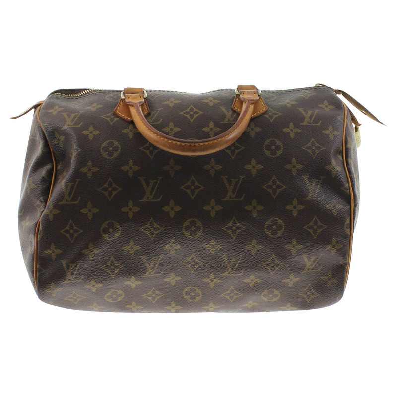 louis vuitton tasche monogram speedy 30 second hand louis vuitton tasche monogram speedy 30. Black Bedroom Furniture Sets. Home Design Ideas