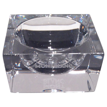 Mont Blanc Crystal paper clip bowl