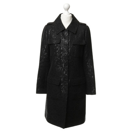 Barbara Bui Coat in Brocade optics
