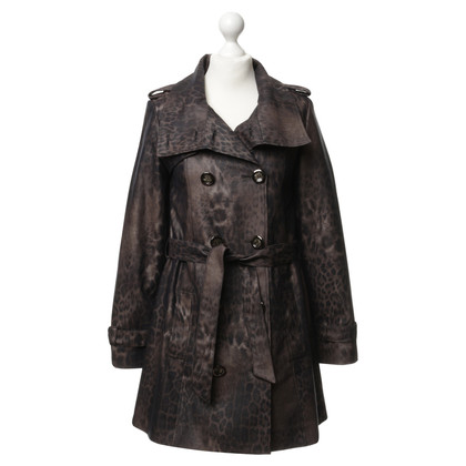 Marcel Ostertag Coat with Leo pattern