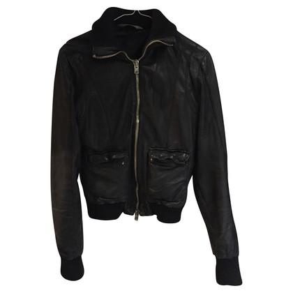 Giorgio Brato Quilted leather jacket