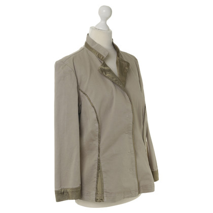 Philosophy di Alberta Ferretti Light jacket in light green