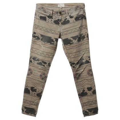 Current Elliott Patterned jeans