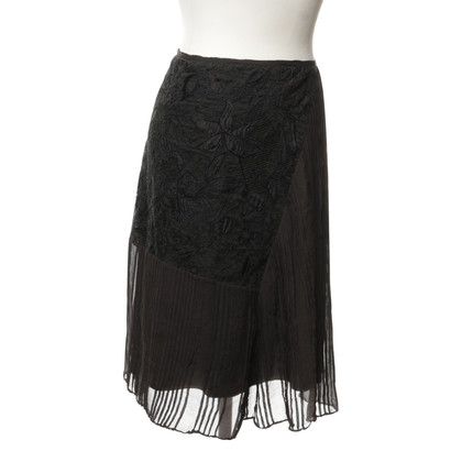 Dries van Noten skirt with embroidery