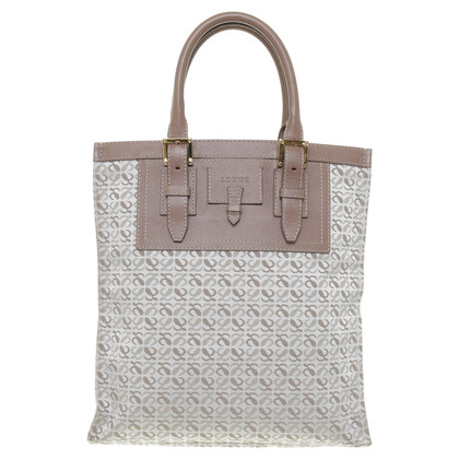 Loewe Patroon Tote tas in Brown