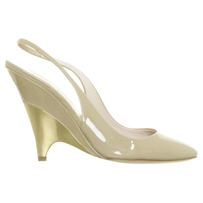Miu Miu Slingbacks patent leather