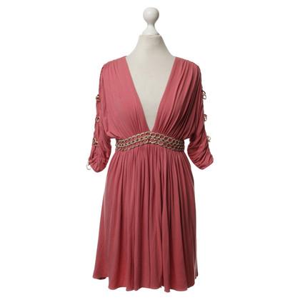 Sky Dress with Rhinestone details