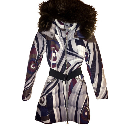 Emilio Pucci Winter jas met bont kraag