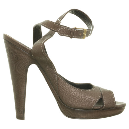 Elie Tahari Sandals bronze colors