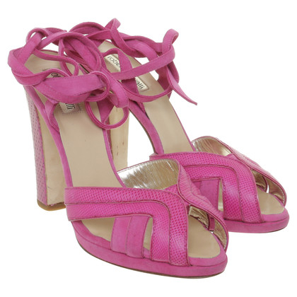 Roberto Cavalli Sandals in pink