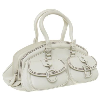 Christian Dior White Tote