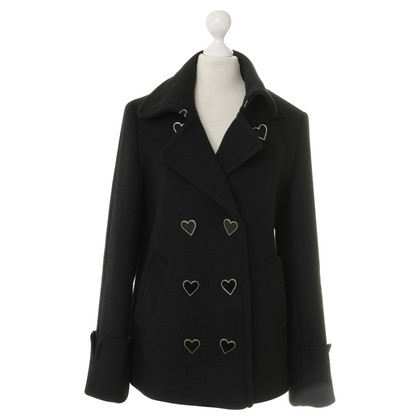 Viktor & Rolf for H&M Coat with heart buttons