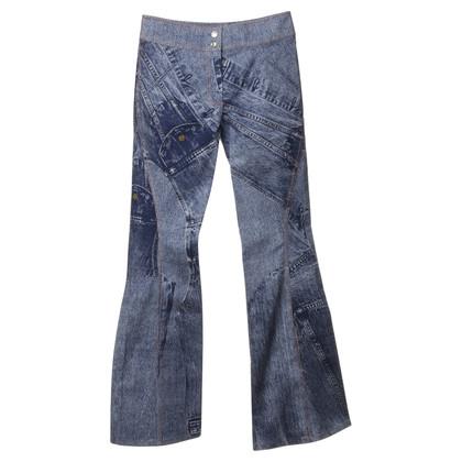 Christian Dior Gedrukte jeans