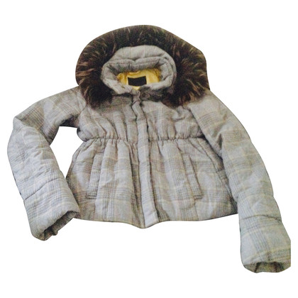 Gas Quilted Jacket with fur