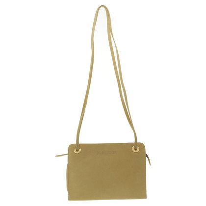 Jil Sander Yellow suede leather bag
