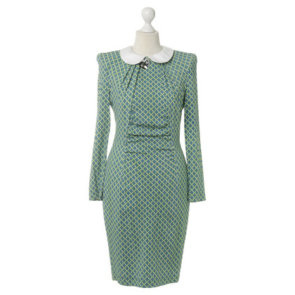 Thomas Rath Dress pattern with collar