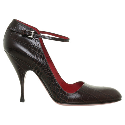 Cesare Paciotti Slingbacks Brown