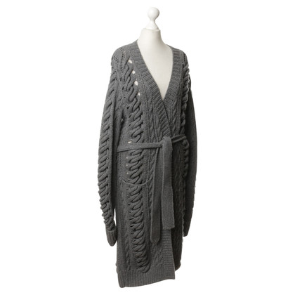 Burberry Knitted coat of wool and cashmere