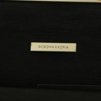 BCBG Max Azria clutch-feather look
