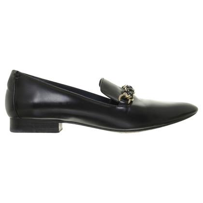 Andere merken Massimo Dutti - zwarte Lederloafer