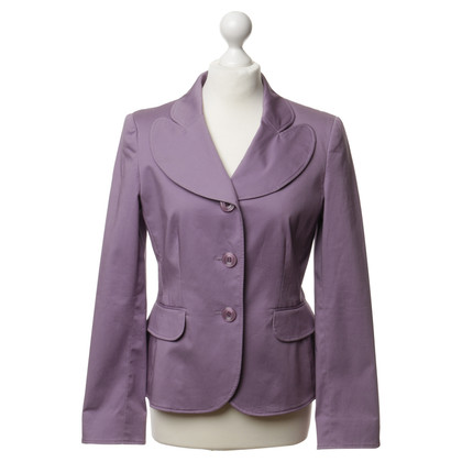 Moschino Cheap and Chic Blazer in viola