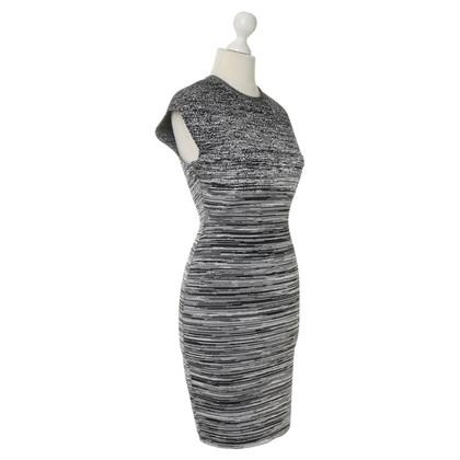Alexander Wang zwart witte jurk