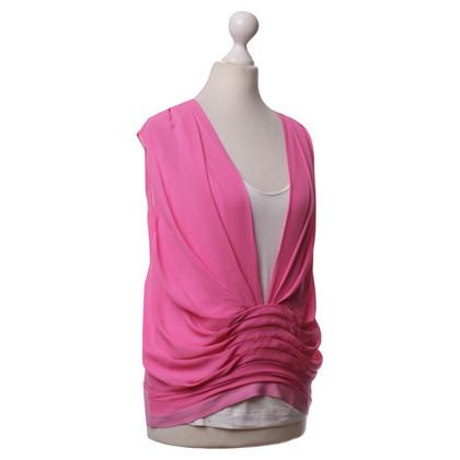 Diane von Furstenberg top silk