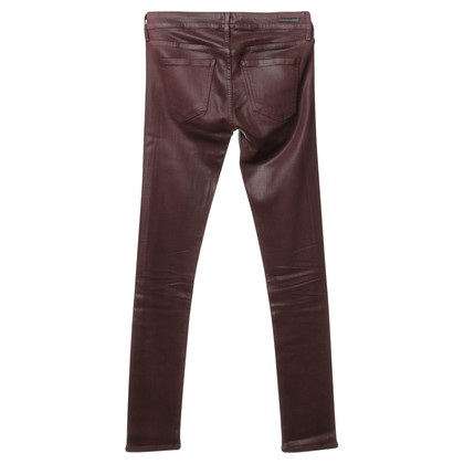 Citizens of Humanity Trousers Bordeaux