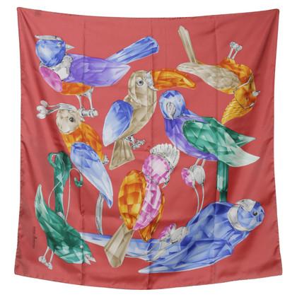 Swarovski Silk scarf print