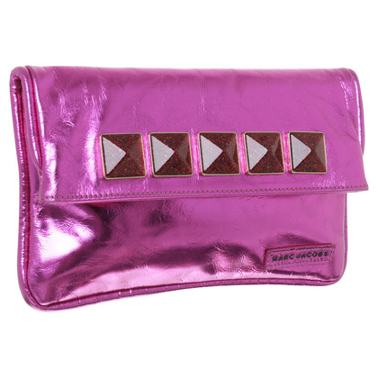 Marc Jacobs clutch in roze