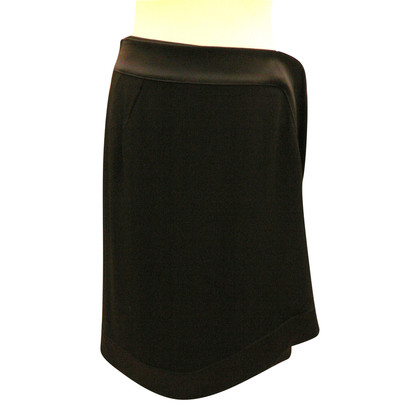 Christian Dior Wrap-around skirt with silk ribbon