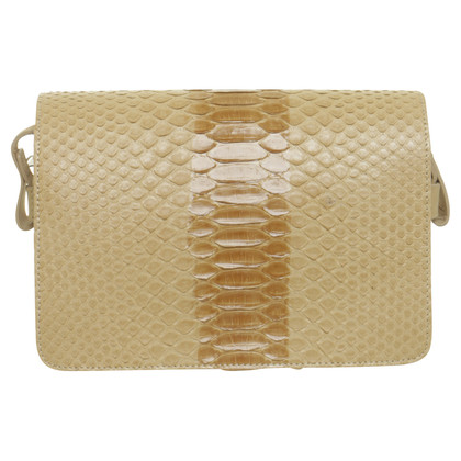 Maison Martin Margiela Python leather bag