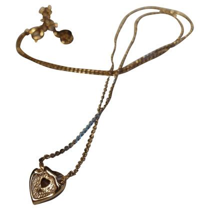 Christian Dior Chain with heart charm