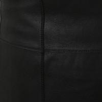 Loewe Lederkleid in Schwarz