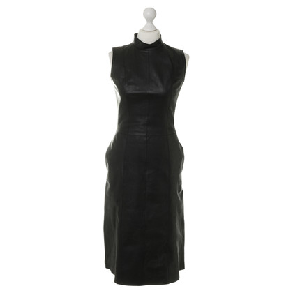 Loewe Leather dress in black