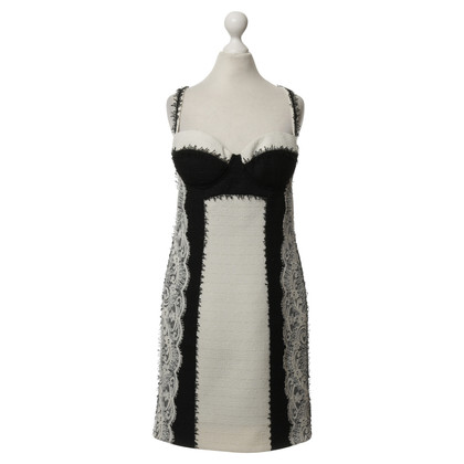 Versace Pinafore dress with lace