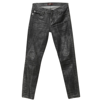 7 For All Mankind Jeans with texture