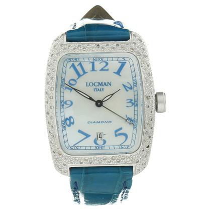 Andere Marke Locman - Armbanduhr mit Schmucksteinen