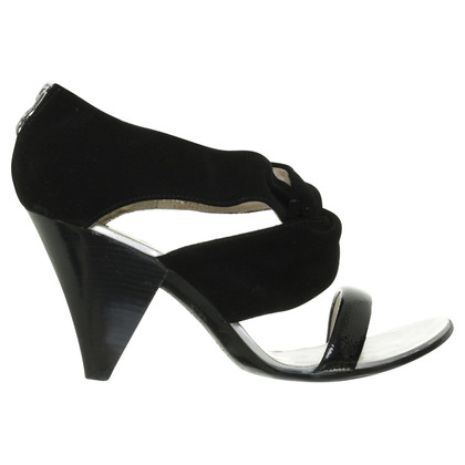 Michael Kors High heel sandal Black Suede