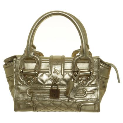 Burberry Handle bag in metallic look