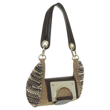 Diane von Furstenberg Handbag with ruffled pages
