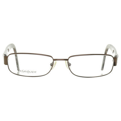 Yves Saint Laurent Glasses with animal print