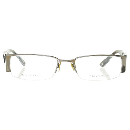 Armani Brille mit Bügeln in Horn-Optik