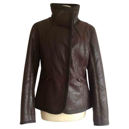 Armani Jeans Web fur jacket