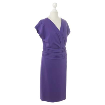 Armani Collezioni Kleid in Violett