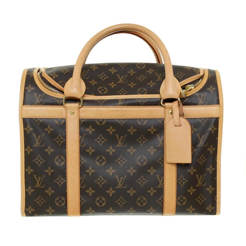 ... Louis Vuitton Chien sac 40 toile Monogram ...
