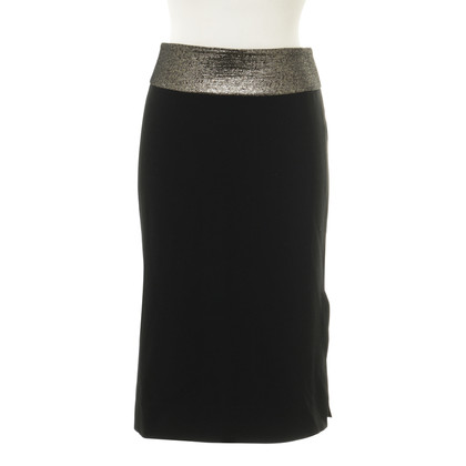 Diane von Furstenberg skirt with shimmering tie