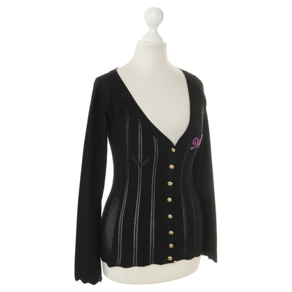 D&G Cardigan with lace pattern